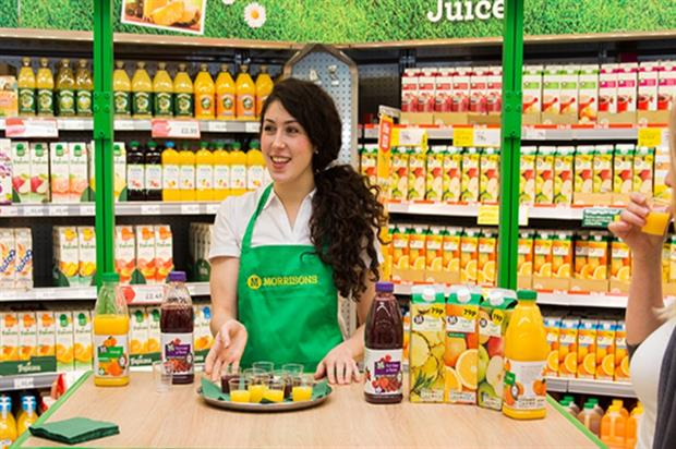 Morrisons has introduced a new in-store sampling and experiential campaign