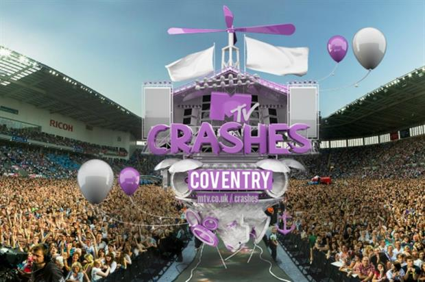 It will be the first time MTV Crashes has taken place in Coventry