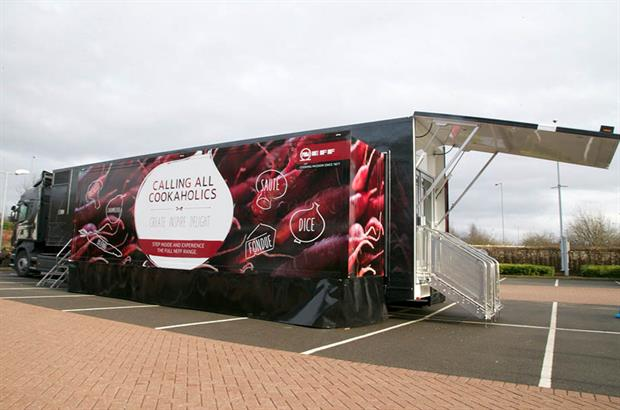 Neff and Bosch launch experiential roadshow