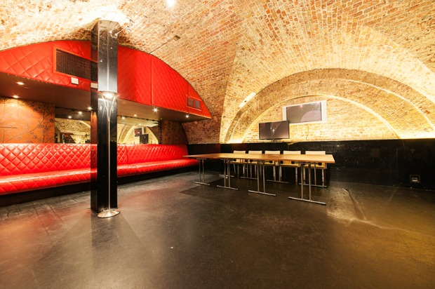 The venue features two arches, two breakout rooms and a VIP area