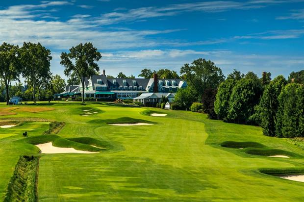 Oakmont: host of this year's US Open golfing tournament, with activations from American Express