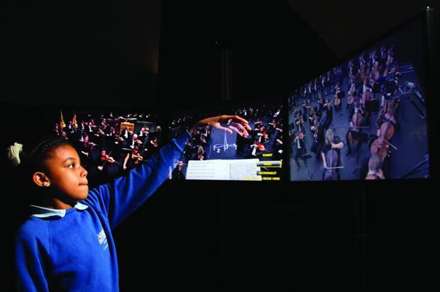 The Philharmonia's Universe of Sound allows guests to immerse themselves in music (Geoff Brown)