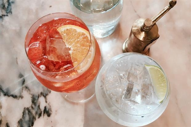 Drinks will be on offer at the French Connection fashion party