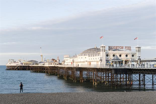 The famous Palace Pier in Brighton (photo credit: Adam Bronkhorst)