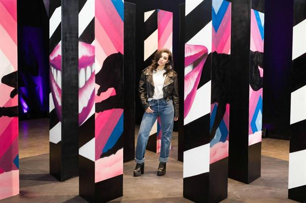 Pepsi Max Cherry's art exhibition will be available to view for one day only