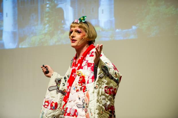 Grayson Perry will host the first Donaldson Lecture, which the Imagination Academy is sponsoring
