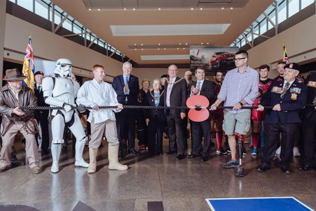 Royal Legion Poppy Appeal takes place at Bluewater shopping centre
