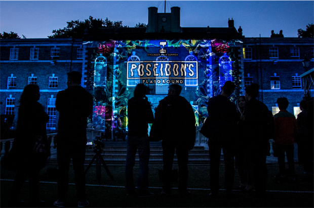 The event was themed as Poseidon's Playground