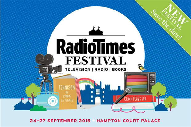 The inaugural Radio Times Festival will take place at Hampton Court Palace