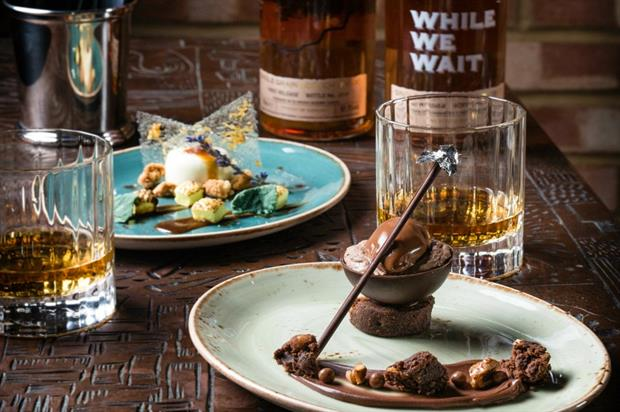 Guests will enjoy two bespoke desserts to enjoy alongside each whisky