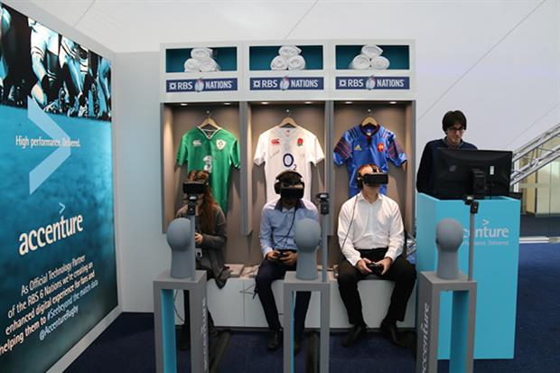 Accenture will offer rugby fans the chance to explore the RBS 6 Nations via a virtual reality demo