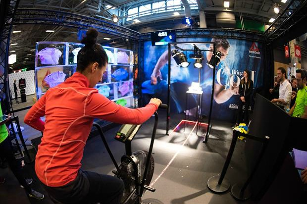 Reebok recently invited fitness fans to earn prizes, by freeing them from blocks of ice