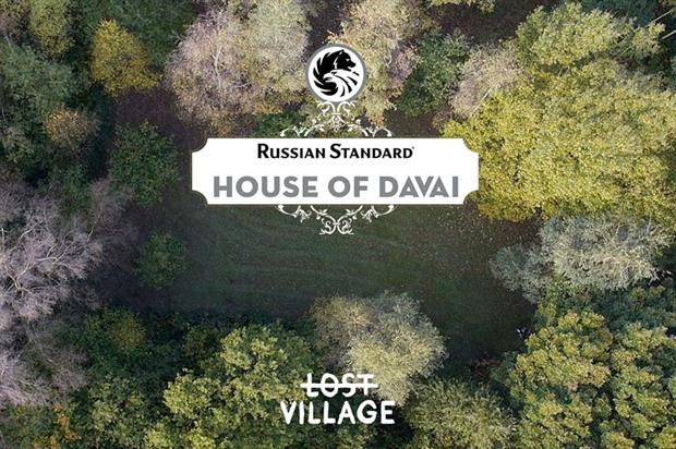 Russian Standard to create 'House of Davai' at Lost Village Festival