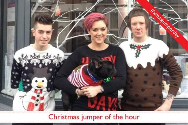 Save the Children's 2013 Christmas jumper campaign