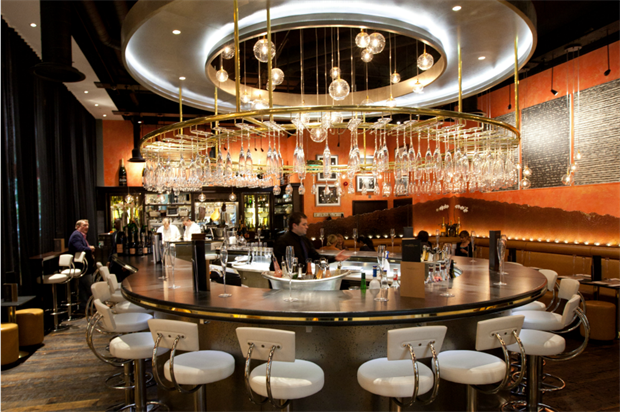 Searcys at One New Change can accommodate up to 120 guests