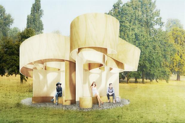 Serpentine Summer House 2016 designed by Barkow Leibinger (image credit: Barkow Leibinger)