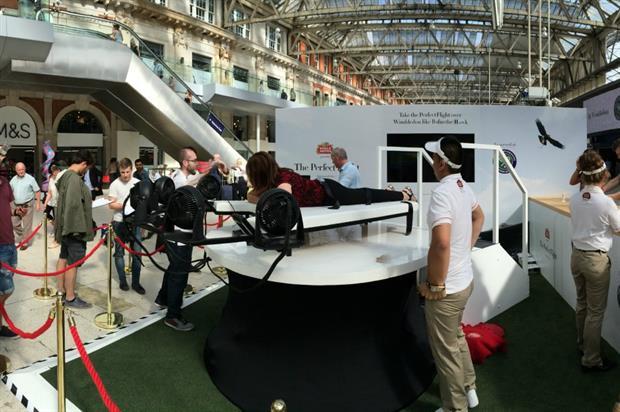 Stella Artois has combined VR with a hydraulic simulator