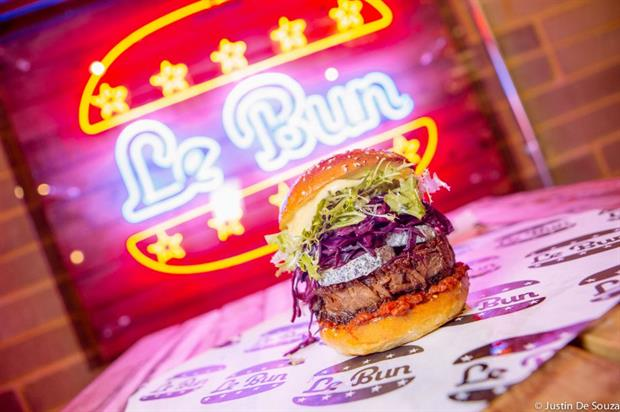 The pop-up will feature street food from vendors such as Le Bun