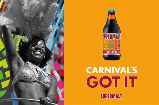 The brand has launched a limited edition bottle for the event featuring carnival colours