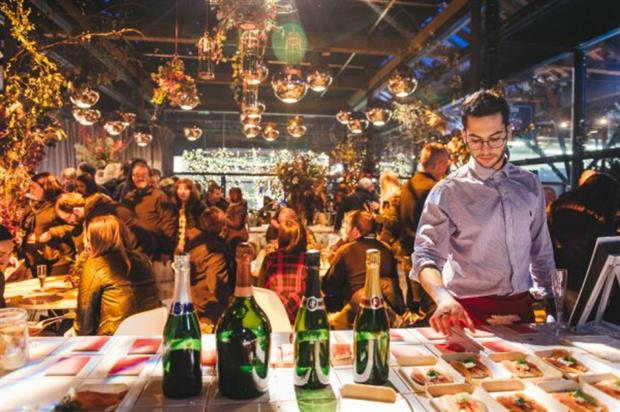 Taste of London's festive edition will feature the Laurent-Perrier Club House