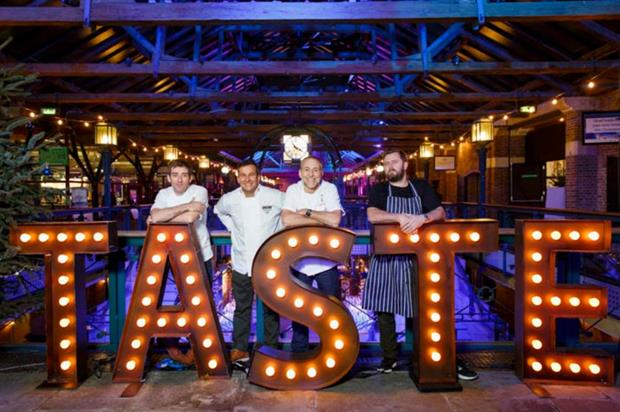Taste launches at Tobacco Dock