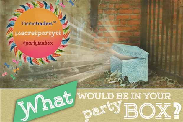 The first Party in a Box will take place on 16 July