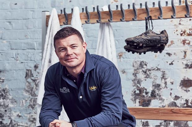 Rugby legend Brian O'Driscoll will captain the Pink Lion Rugby Club by Thomas Pink