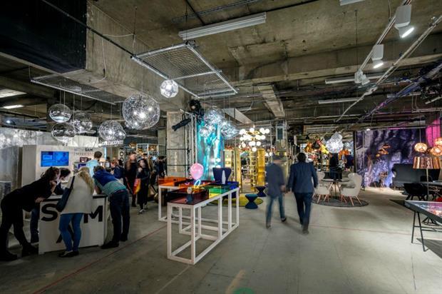 Tom Dixon's Multiplex provides pop-up space for a range of brands