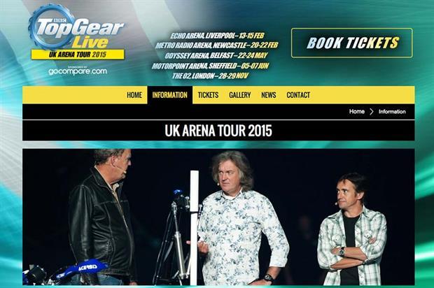 BBC rebrands Top Gear live shows following Clarkson's departure