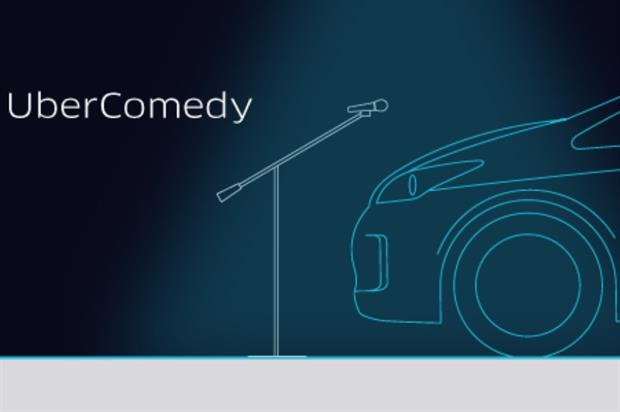 Five comedians have signed up for UberComedy in London