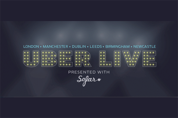 The Uber Live series will take place in secret locations tonight (18 June)