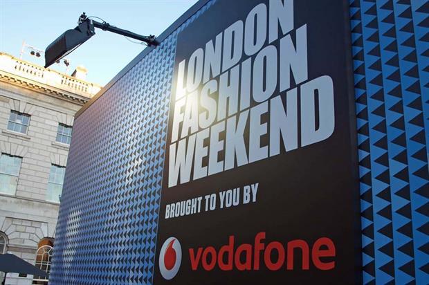 Wasserman Media Group worked on Vodafone London Fashion Week