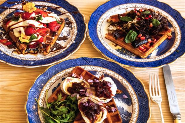 Savoury waffles: comfort food with a new twist