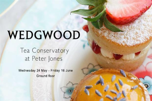 Wedgwood: floral afternoon tea