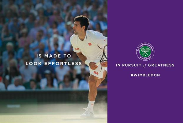 Space has worked with the AELTC for the past five Wimbledon tournaments