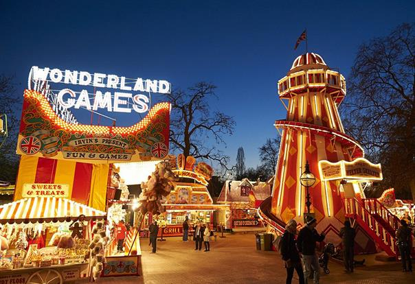 The annual Winter Wonderland festival will be open until 3 January
