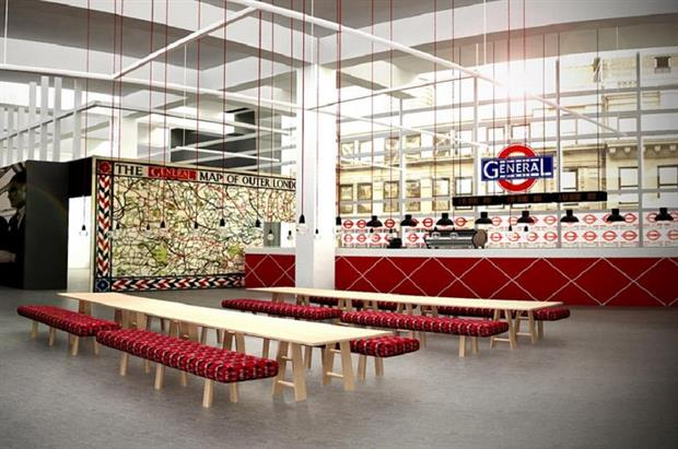 The TfL restaurant at Designjunction