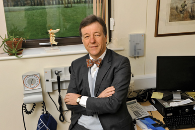 Dr Michael Dixon is concerned that annual assessment could become an 'examination hurdle' (Photograph: Mike Alsford)