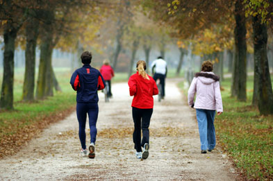 Regular exercise can keep colds at bay (Photograph: Istock)
