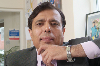 Dr Chand stressed his support for the NHS was non-political.