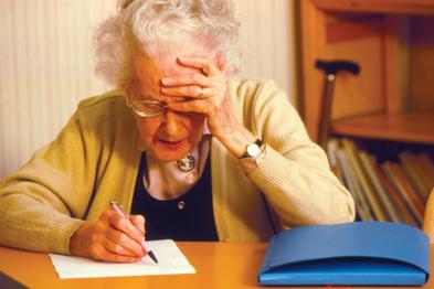 Even mild cognitive impairment can reduce life expectancy (Photograph: SPL)