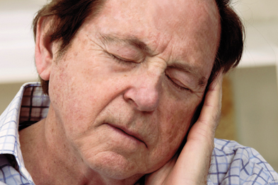 Older men failing to achieve enough slow-wave sleep may be at risk (Photograph: SPL)