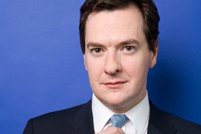 George Osborne: '(continues) ... to seek efficiency savings in the NHS'.