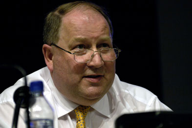 Dr Peter Holden: funding queries