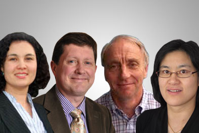 Dr Maria Dyban, Dr Dominic Horne, Dr Henry Smithson and Dr Alena Chong