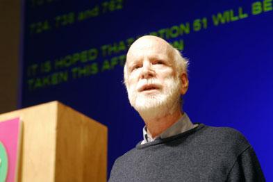 Dr Ron Singer: bridging 'status gap'