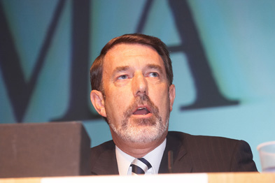 Dr Meldrum: protecting doctors' pensions (Photograph: Haymarket Medical/MCG)