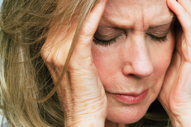 One in 10 women and one in 20 men experience depression each year (Photograph: SPL)