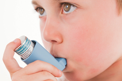 Asthma: chaotic family lives can undermine adherence to treatment (photo: SPL)