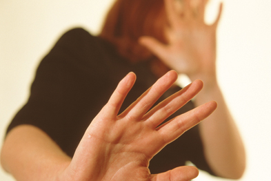 Domestic violence: affects 25% of women and 15% of men in the UK (photo:SPL)